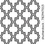 vector seamless texture. modern ... | Shutterstock .eps vector #782947015