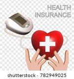 health insurance isolated vector   Shutterstock .eps vector #782949025