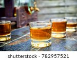 alcohol taste and drink concept ... | Shutterstock . vector #782957521