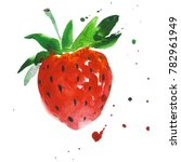 exotic strawberry healthy food...   Shutterstock . vector #782961949