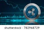 ripple coin  xrp ... | Shutterstock . vector #782968729