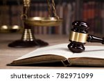 law and justice concept. legal