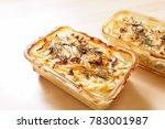 homemade jansson's temptation   Shutterstock . vector #783001987