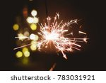 abstract blur sparklers for... | Shutterstock . vector #783031921