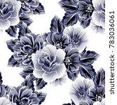 abstract elegance seamless... | Shutterstock .eps vector #783036061