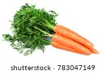 fresh orange carrots | Shutterstock . vector #783047149