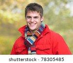 portrait of young man | Shutterstock . vector #78305485