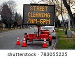 A Street Cleaning Billboard...