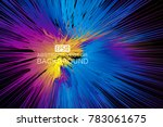 color lines make up the...   Shutterstock .eps vector #783061675