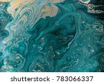 marble abstract acrylic... | Shutterstock . vector #783066337