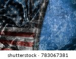usa flag vintage background | Shutterstock . vector #783067381