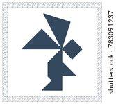 tangram brain game angel riddle ...
