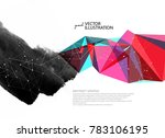 the coexistence of traditional... | Shutterstock .eps vector #783106195