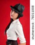 a beautiful mixed race asian  ... | Shutterstock . vector #78311008