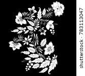 stock vector abstract hand draw ... | Shutterstock .eps vector #783113047
