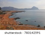 view of the beach in san vito... | Shutterstock . vector #783142591
