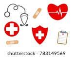 the  professional medical... | Shutterstock .eps vector #783149569
