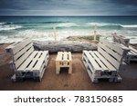 standard white wooden furniture ... | Shutterstock . vector #783150685