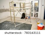 home improvement in a new house | Shutterstock . vector #783163111