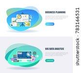 flat concept web banner of big... | Shutterstock .eps vector #783166531