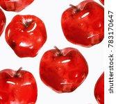 Ripe Apples Mix Seamless...