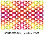 colorful abstract pattern design | Shutterstock .eps vector #783177925