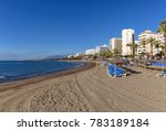 sand coastline of marbella town ... | Shutterstock . vector #783189184