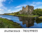 dunvegan castle and harbour on... | Shutterstock . vector #783199855