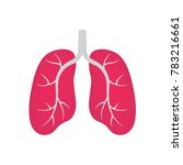 lungs icon  vector illustration | Shutterstock .eps vector #783216661