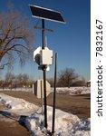 solar powered wifi pole | Shutterstock . vector #7832167