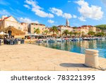 supetar port  brac island   sep ... | Shutterstock . vector #783221395