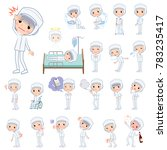 a set of women with injury and... | Shutterstock .eps vector #783235417