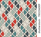 seamless surface pattern with... | Shutterstock .eps vector #783236089