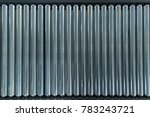 crossing of the roller conveyor.... | Shutterstock . vector #783243721