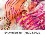 Texture background image  silk...