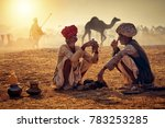 pushkar. rajasthan. india  ... | Shutterstock . vector #783253285