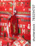 christmas gifts boxes.... | Shutterstock . vector #783254737