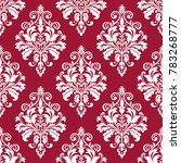 floral pattern. wallpaper... | Shutterstock . vector #783268777