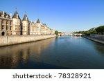 Majestic River Seine In The...