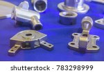 metal part produced by lost wax ... | Shutterstock . vector #783298999