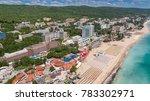 golden sands beach  varna ... | Shutterstock . vector #783302971