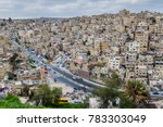 view of houses on hills in the... | Shutterstock . vector #783303049