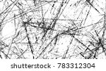 dry brush strokes and scratches ... | Shutterstock .eps vector #783312304