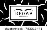 brow design logo business card...   Shutterstock .eps vector #783313441