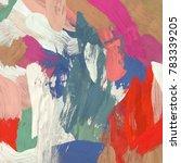 oil painting on canvas handmade.... | Shutterstock . vector #783339205