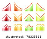 business revenue statistics | Shutterstock .eps vector #78335911