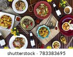 thai seafood meal | Shutterstock . vector #783383695