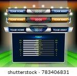 vector illustration graphic of... | Shutterstock .eps vector #783406831
