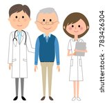 illustrations of doctors ... | Shutterstock .eps vector #783426304