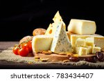 cheese on the table   Shutterstock . vector #783434407